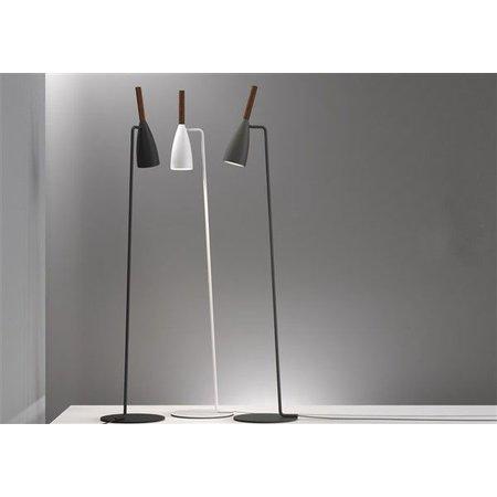 Floor lamp design black, white or grey GU10 orientable 1500mm high