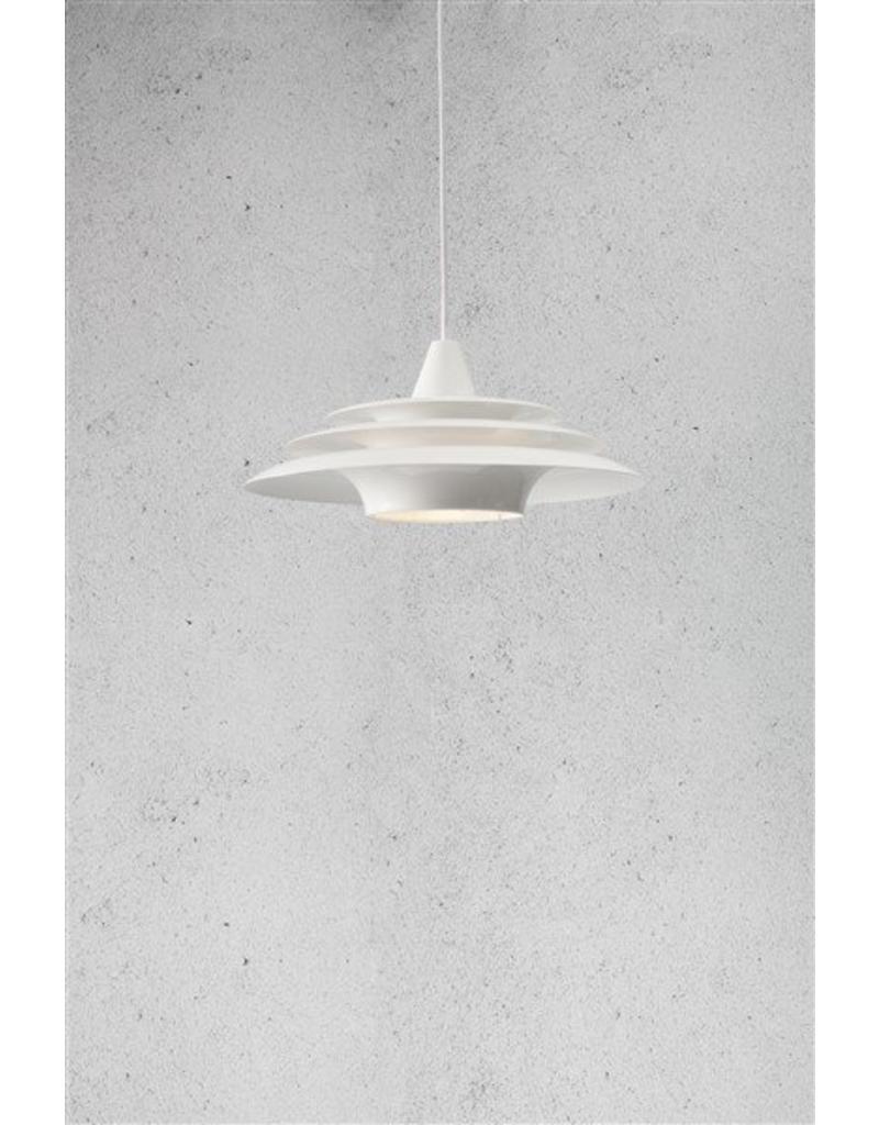 luminaire suspendu rond blanc ufo e27 400mm diam tre. Black Bedroom Furniture Sets. Home Design Ideas