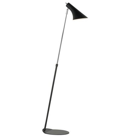 Floor lamp design black or white E14 740-1290mm high