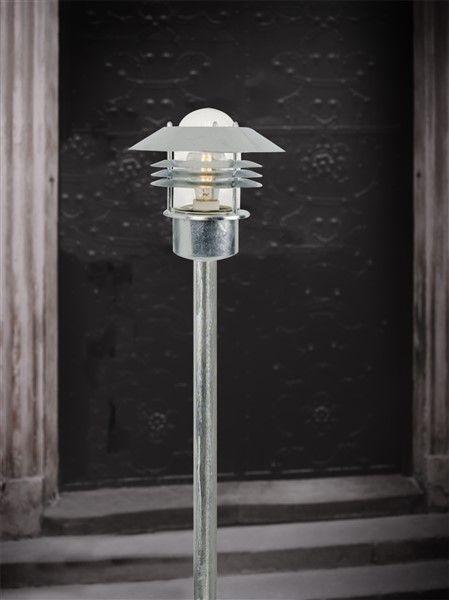 lampadaire exterieur noir galvanise inox e27 ip44 Résultat Supérieur 15 Luxe Lampadaire Inox Design Galerie 2017 Pkt6
