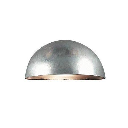 Outdoor wall light copper-black-white-galvanized E14 200