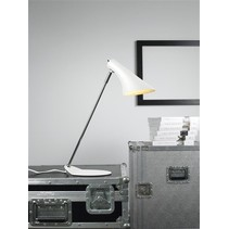 Desk lamp design white or black E14 440mm high
