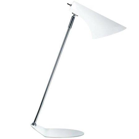 Lampe de bureau design blanche ou noire E14 440mm haut