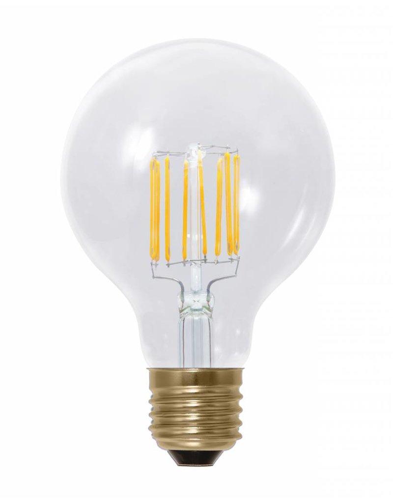 LED bulb light 6W filament E27 dimmable gold colour