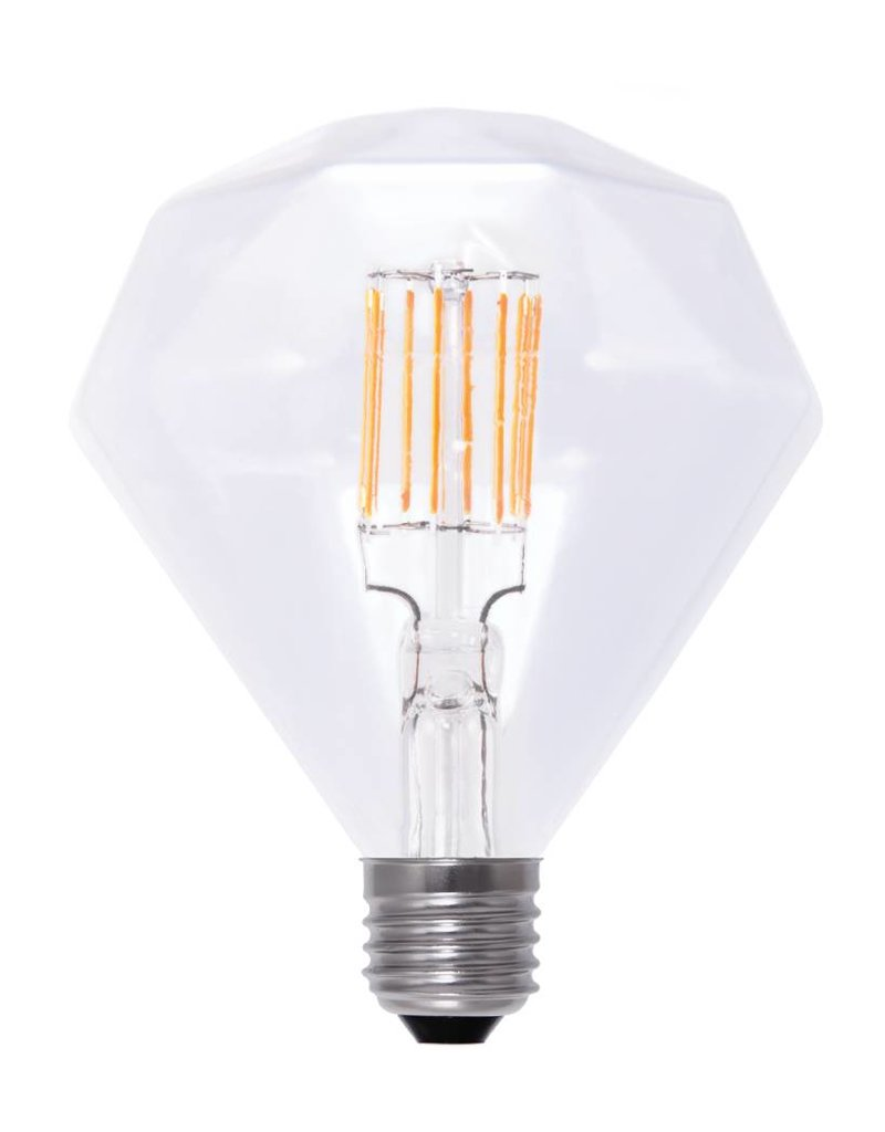 LED lamp diamant E27 6W filament