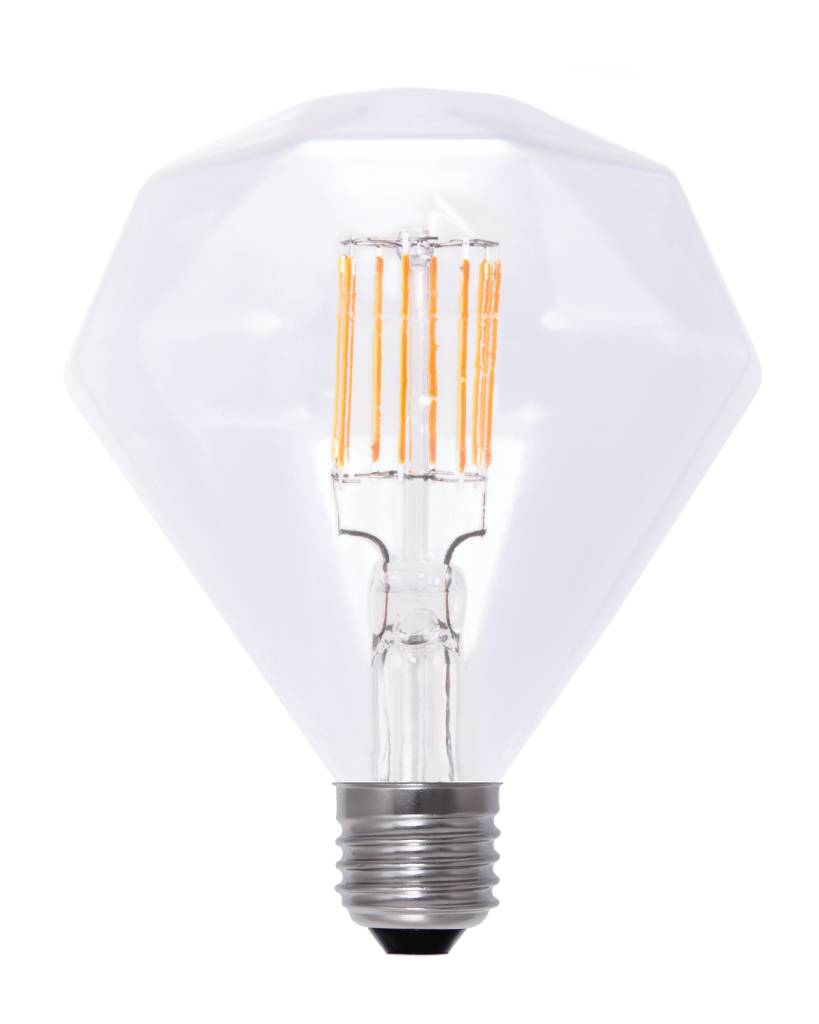 LED lamp diamant E27 6W filament