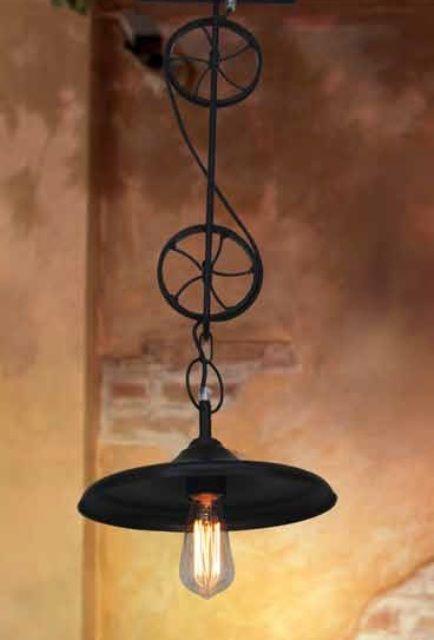 hanglamp industrieel goedkoop 2 wielen e27 zwart mat 800 myplanetled