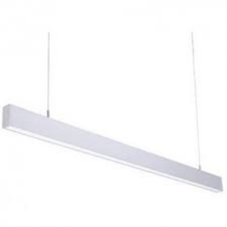 Long pendant light LED black, white or grey 1152mm 18W