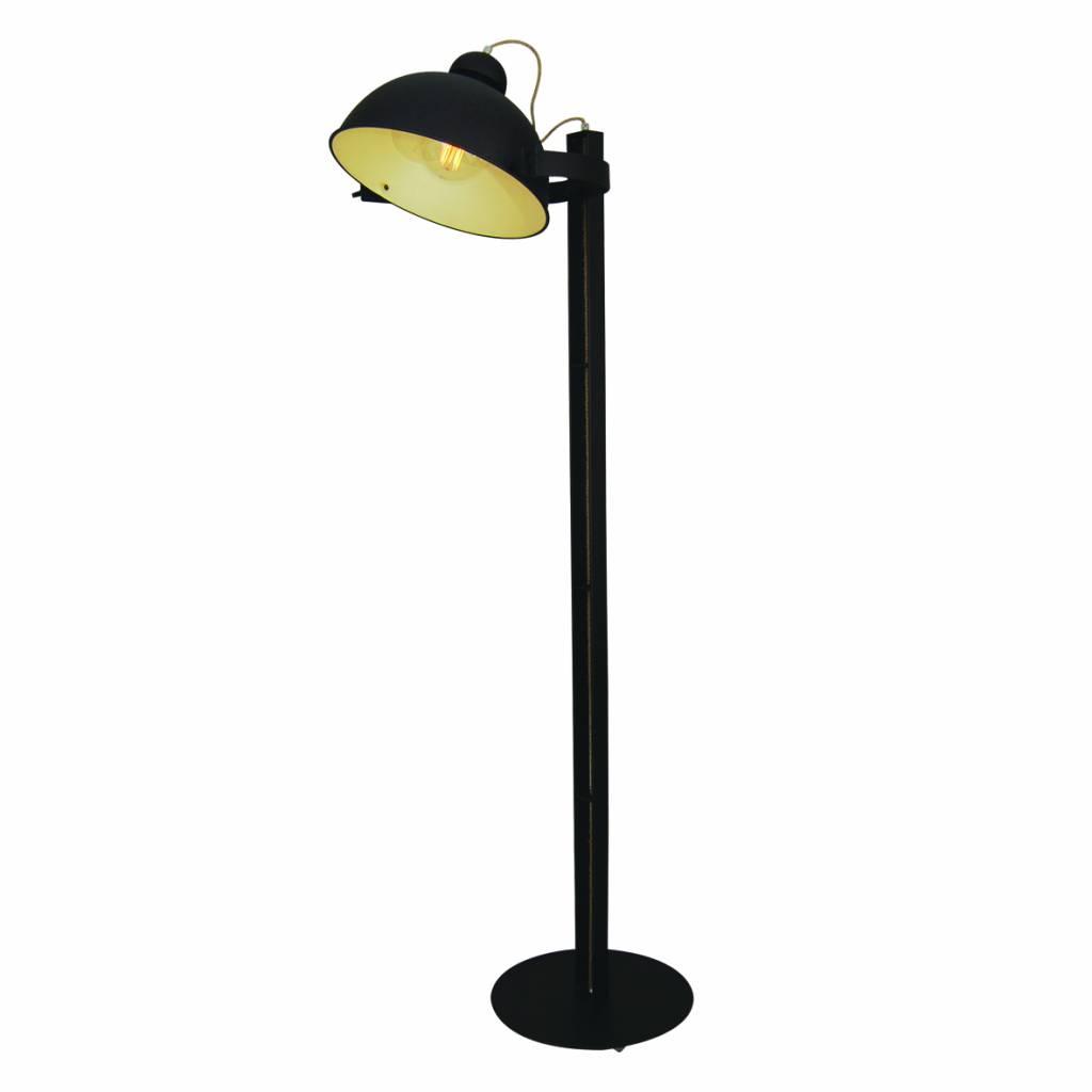 lampadaire sur pied design brun rouill beige 1800mm e27. Black Bedroom Furniture Sets. Home Design Ideas