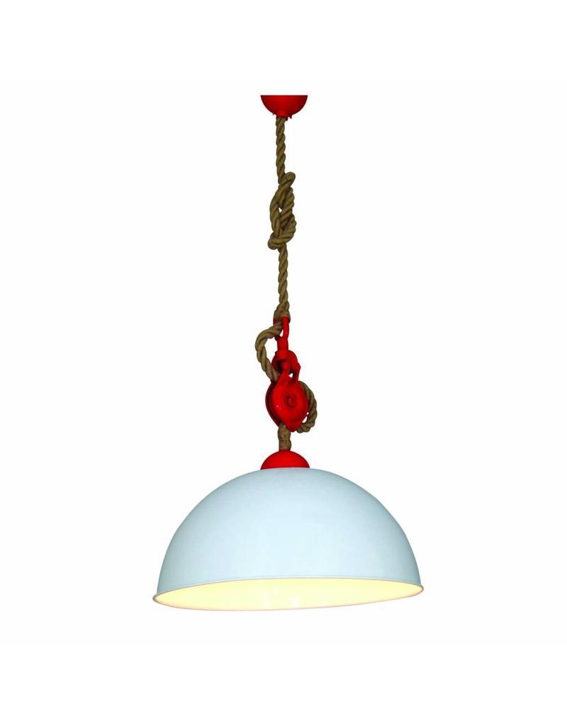 pendant light kitchen industrial white red 500mm e27