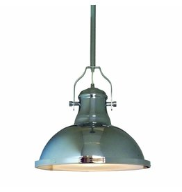 Pendant light chrome vintage 380mm diameter E27