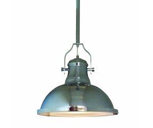 Hanglamp woonkamer chroom 380mm diameter E27   Myplanetled