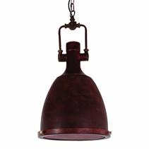 Luminaire suspendu vintage cuivre avec chaîne 300mm E27
