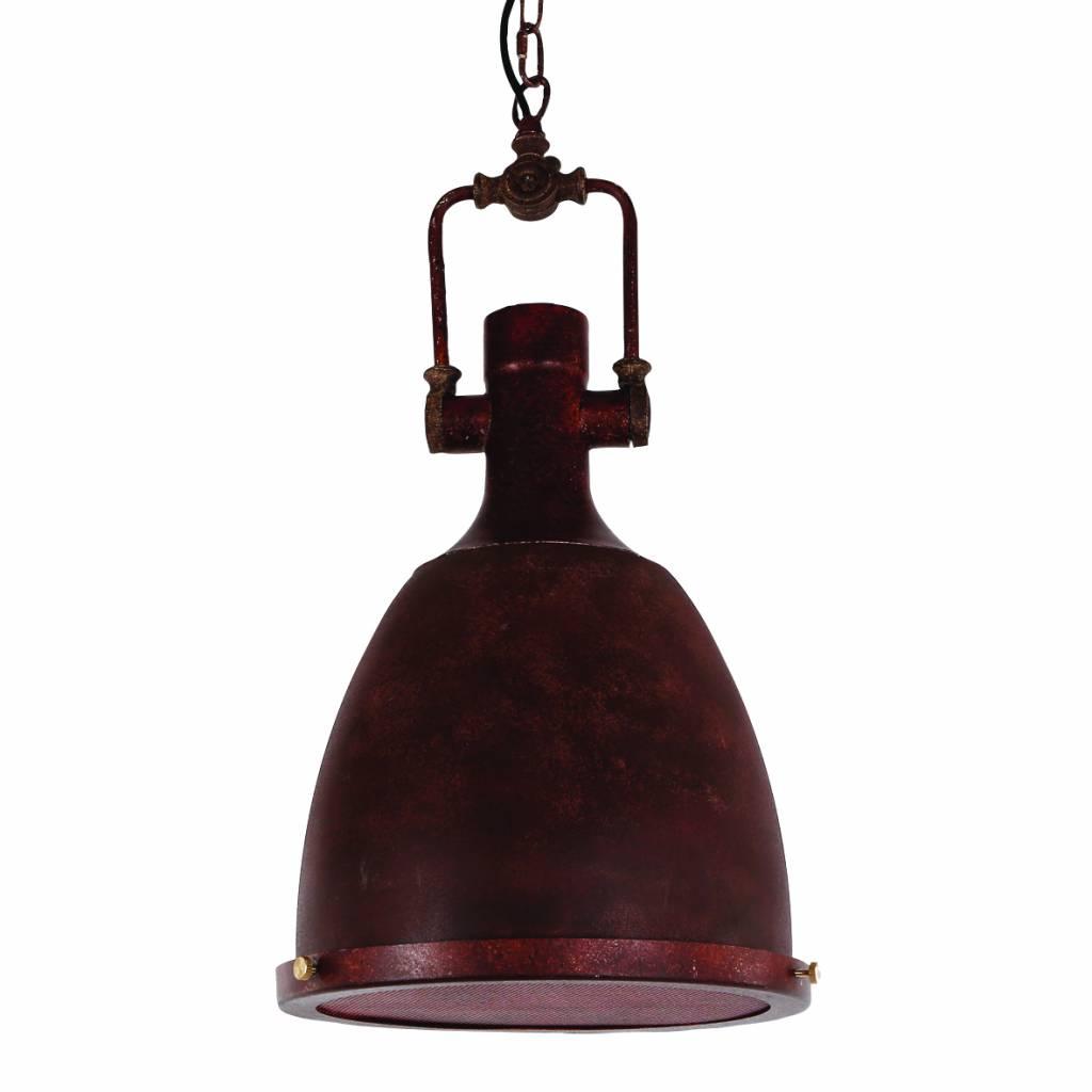 Hanglamp pendel koper industrieel ketting 300mm
