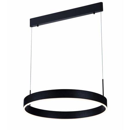 Pendant light design round brown, black, white 22W 571mm