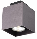 Ceiling light GU10 white,black, copper brown 5W 90x90mm