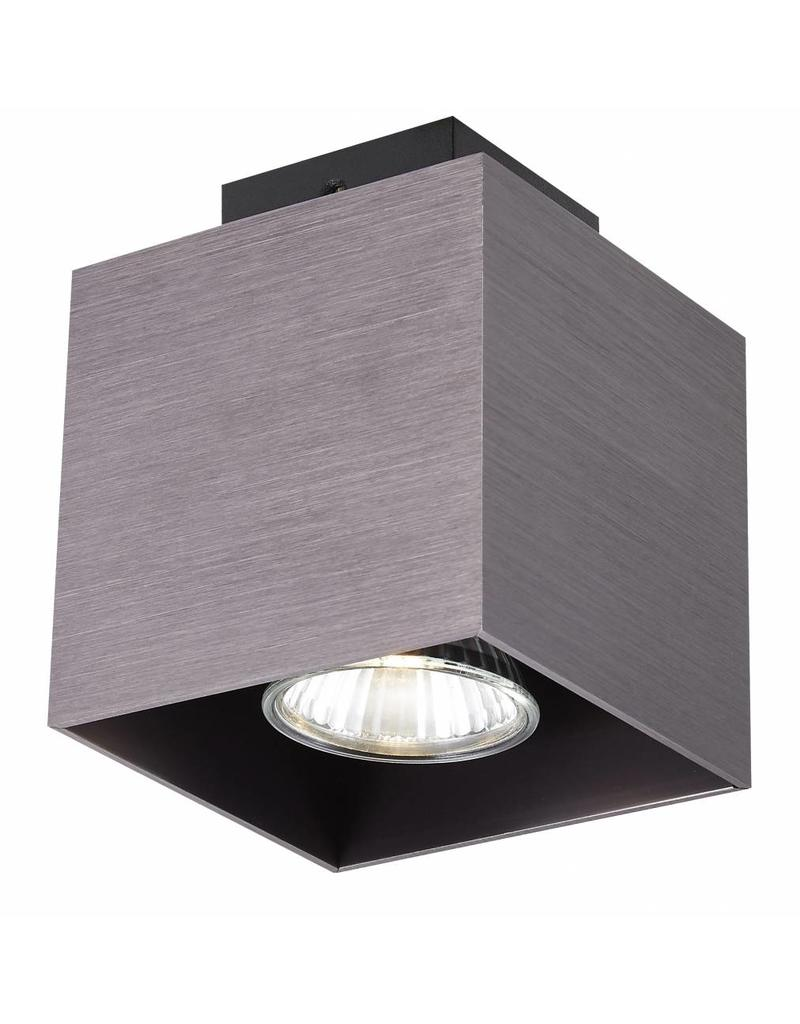 Ceiling light GU10 white,black, copper brown 5W 90x90mm