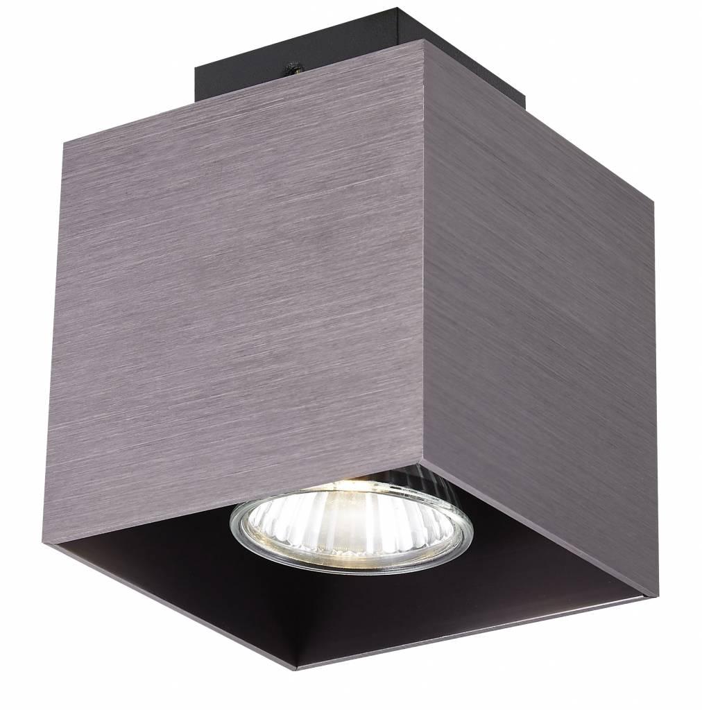 plafonnier led carre gu10 blanc noir cuivre brun 5 Résultat Supérieur 15 Superbe Plafonnier Led Noir Image 2017 Shdy7