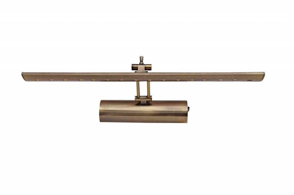 eclairage tableau led bronze ou gris 8w 415mm myplanetled. Black Bedroom Furniture Sets. Home Design Ideas