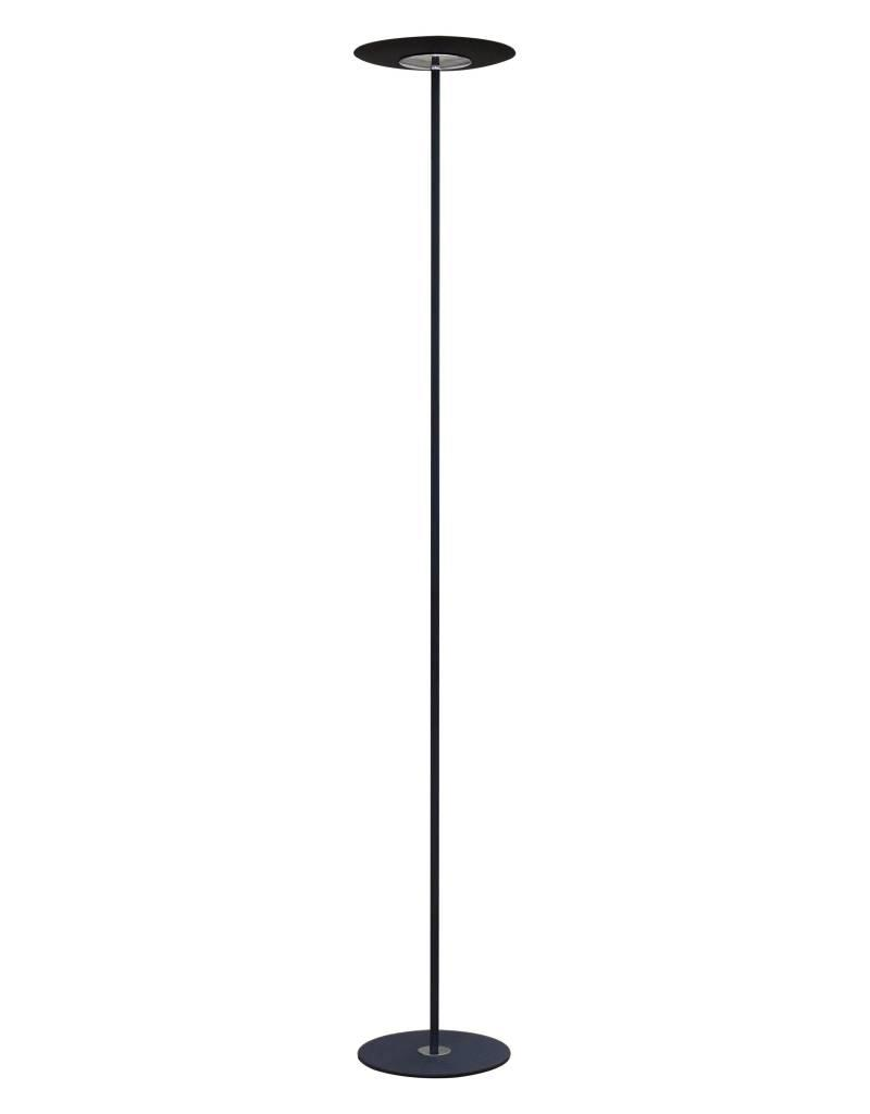 Floor lamp dimmable white or black 1830mm high