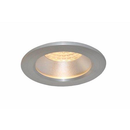 Downlight recessed 85mm bathroom white or grey IP44