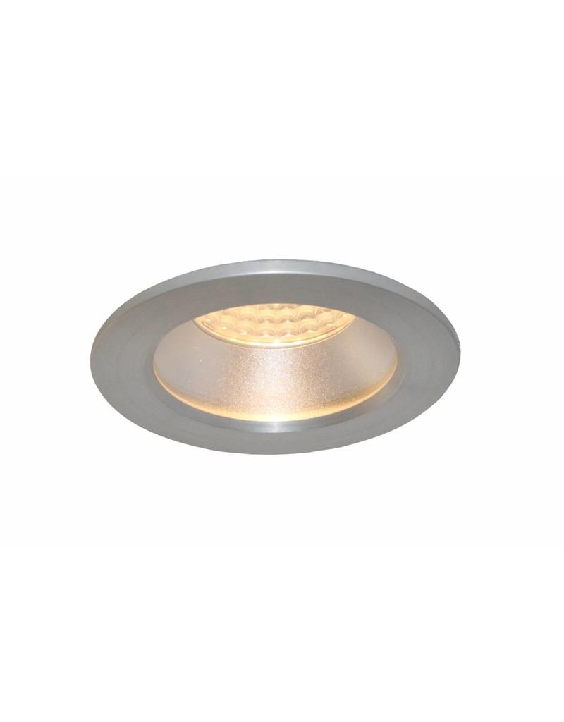 Downlight recessed 85mm bathroom white or grey IP44