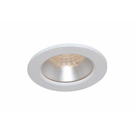 Downlight recessed 85mm bathroom white, black, grey IP44