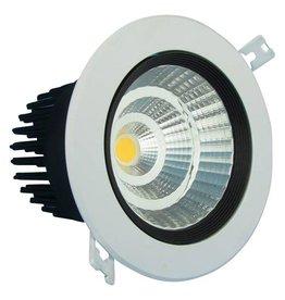Inbouwspot LED 5W richtbaar 15°/24°/38°/60° beam