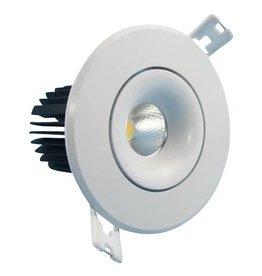 Inbouwspot LED 7W richtbaar 30° beam