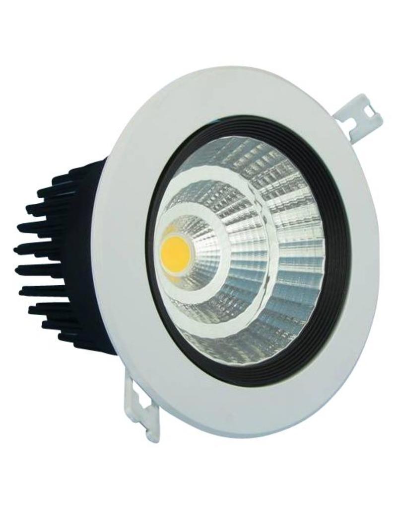 Downlight recessed LED 7W orientable 15°/24°/38°/60° beam