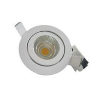 Spot encastrable LED 7W blanc ou gris 30°/40°/60°/90°