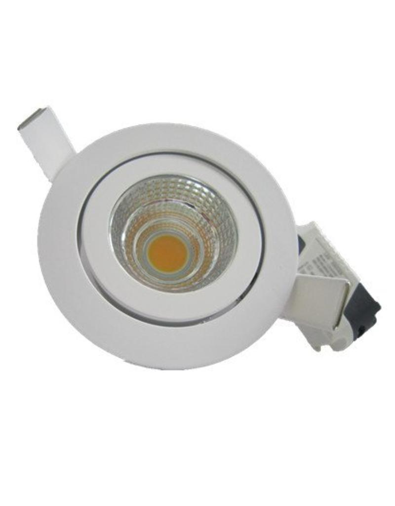 Downlight recessed 7W LED orientable 30°/40°/60°/90°