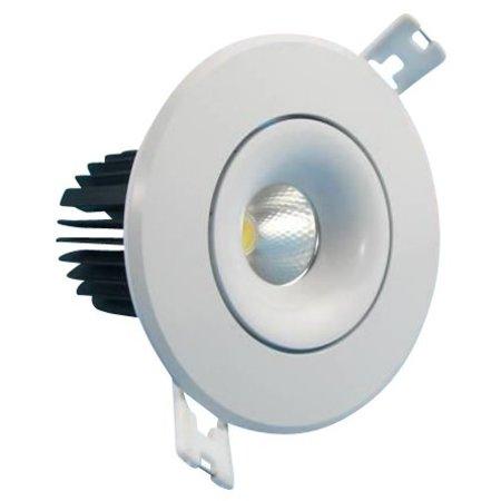 Plafonnier LED encastrable trou 80mm 9W