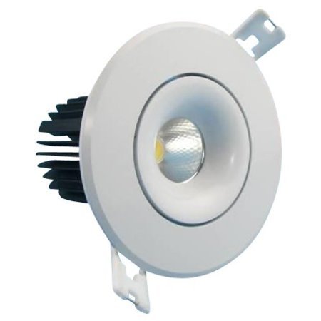 90mm cut-out downlight LED 12W orientable