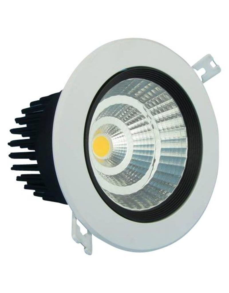 Downlight recessed 30W LED orientable 15°/24°/38°/60°