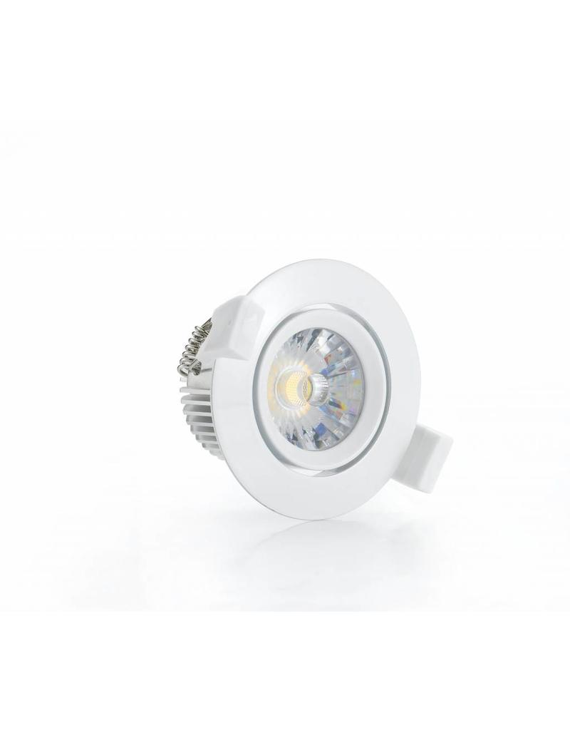 Downlight recessed LED 6W orientable 30°/60° driverless