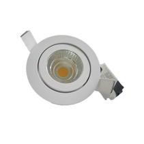 Inbouwspot LED 5W richtbaar grijs/wit 30°40°60°90° IP45