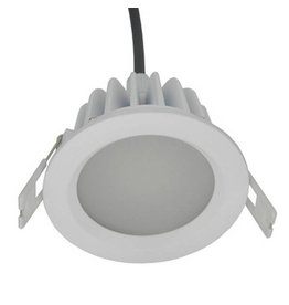 Downlight 90mm cut out LED 8W 140° driverless IP65