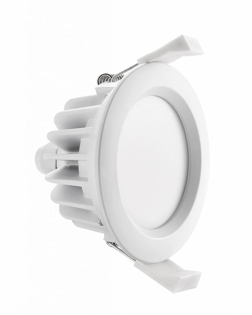 Spot encastrable salle de bain ip65 led 8w sans transfo for Spot salle de bain ip65