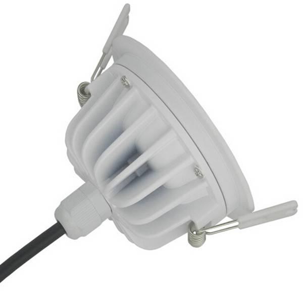 Inbouwspot LED 12W 140° driverless IP65 badkamer | Myplanetled