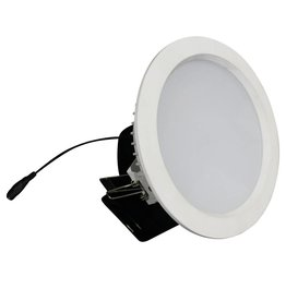 Downlight recessed 15W LED 120° driverless for bathroom