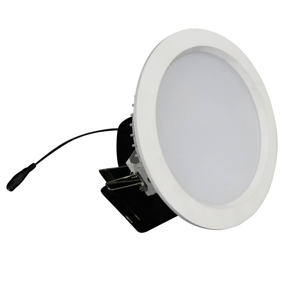 Downlight recessed 15W LED 120° driverless