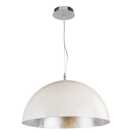 Big Pendant Light Industrial White Black Or Silver 70cm O