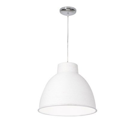 Modern pendant light paper white or brown 50cm Ø