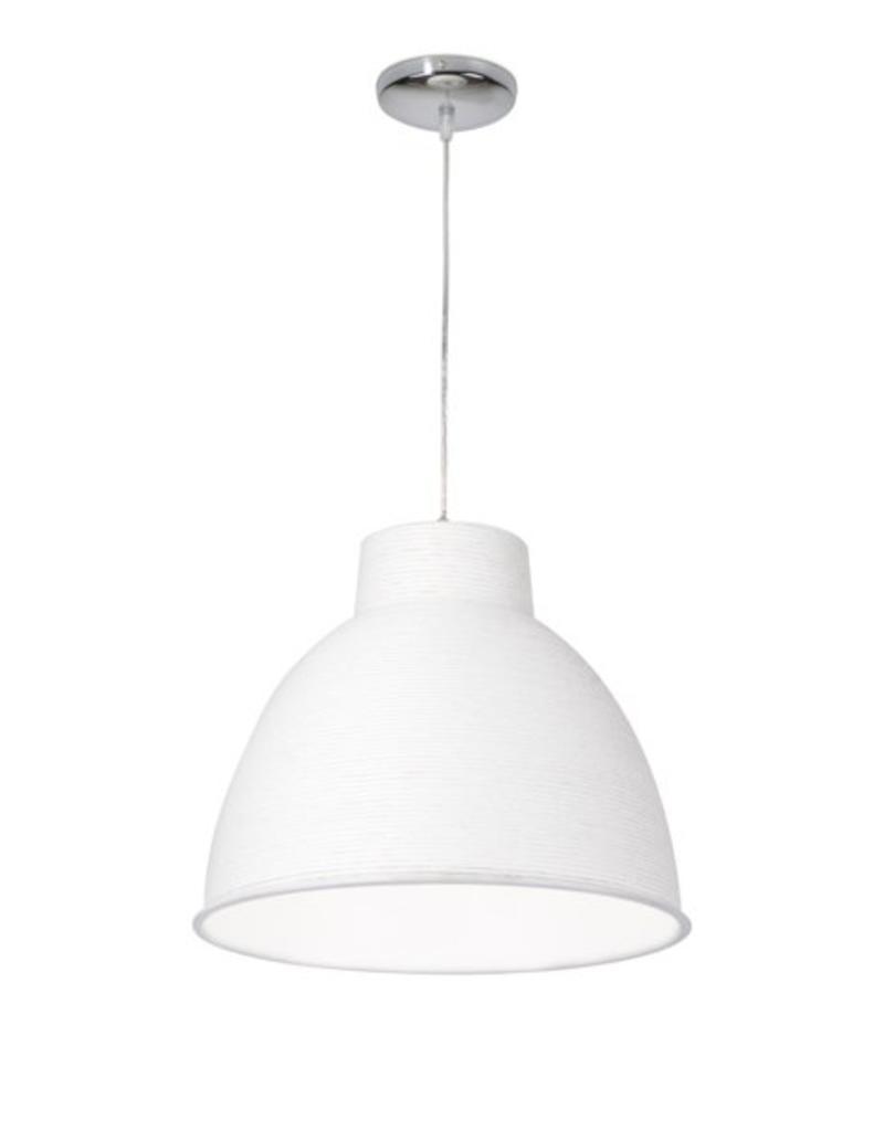 Modern Pendant Light Paper White Or Brown 50cm Myplanetled