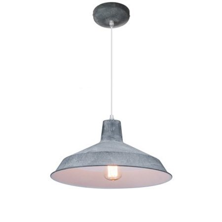 Industrial pendant light copper, black, white, concrete 40cm Ø