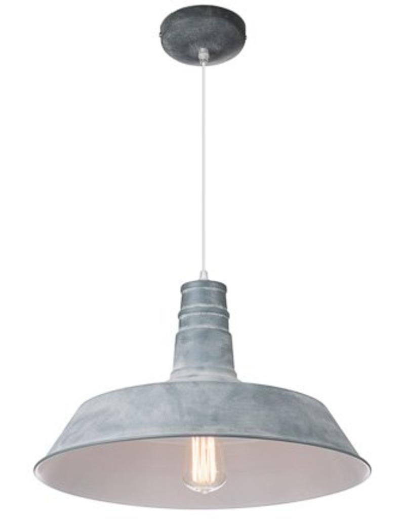 Woonkamer hoeveel lampen woonkamer : Verlichting online / Industriu00eble hanglamp zwart, wit, beton 45cm ...