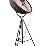 Industriële staande lamp zwart-wit 1900mm E27