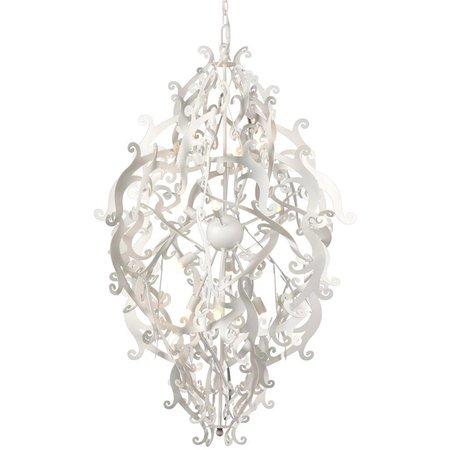 Lustre de luxe design noir, blanc, gris 113cm H