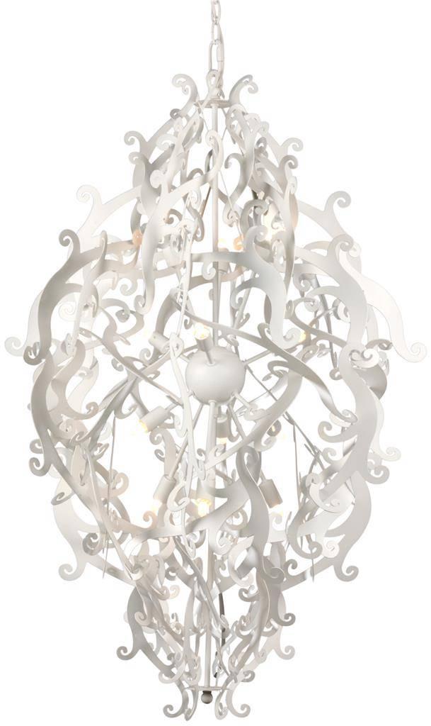 lustre de luxe design noir blanc gris 113cm h myplanetled. Black Bedroom Furniture Sets. Home Design Ideas